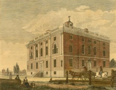 The President's house at Ninth and Market Streets, ca. 1800