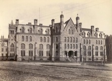 Medical Hall, ca. 1890 (renamed Logan Hall, 1906; now Claudia Cohen Hall)